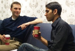 Tom and  Sukh Mentoring