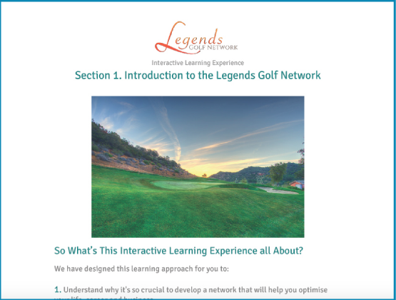 Legends Golf Network -ILE