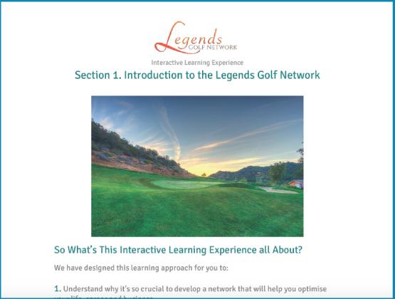 Legends Golf Network -ILE